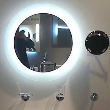 espejo con luz integrada