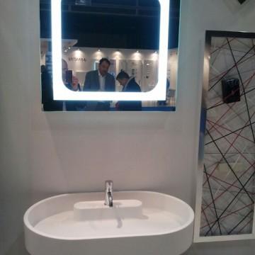 espejo luz integrada