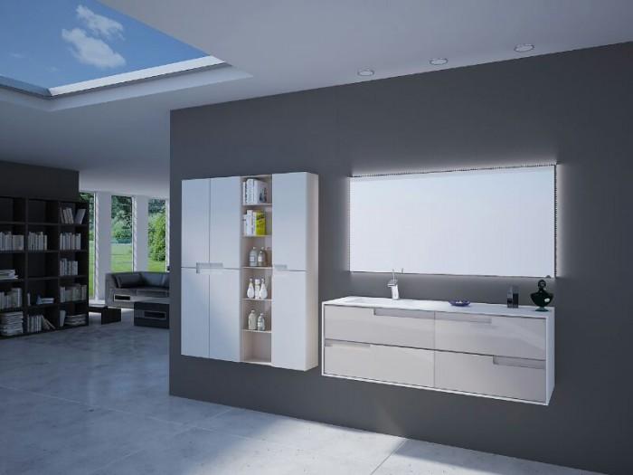 Mueble de baño a medida en laca