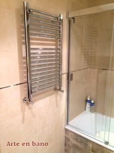 radiador toallero cromo